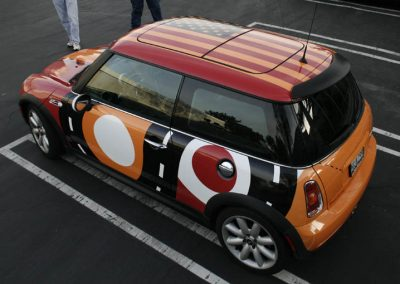 La Wraps Mini Cooper Roof Wrap