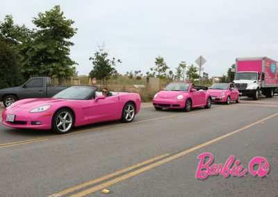 La Wraps Barbie Pink Motorcade Wrap