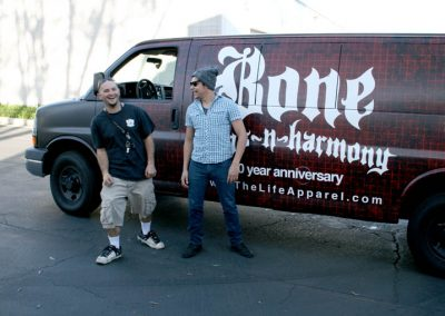La Wraps Bone Thugs Van Wrap