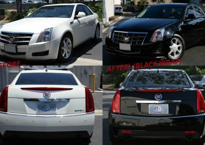 La Wraps Cts Color Change Before And After