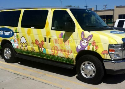 La Wraps Old Navy Easter Van Wrap