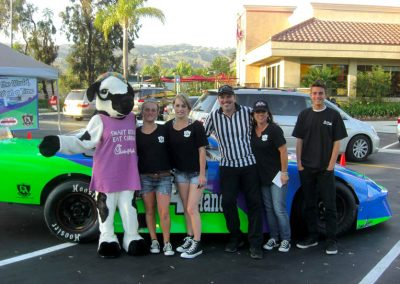 La Wraps Teach 4 Change Garage Nascar Race Car Wrap 2