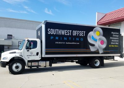 La Wraps Southwest Offset Delivery Box Truck Wrap 1
